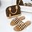 Thumbnail: Elouise - Tan Silver Ball Slider Sandals