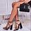 Thumbnail: Emma - Black Patent Pointed Toe Block Heel