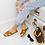 Thumbnail: Hillary - Tan H Style Flat Slider Sandal