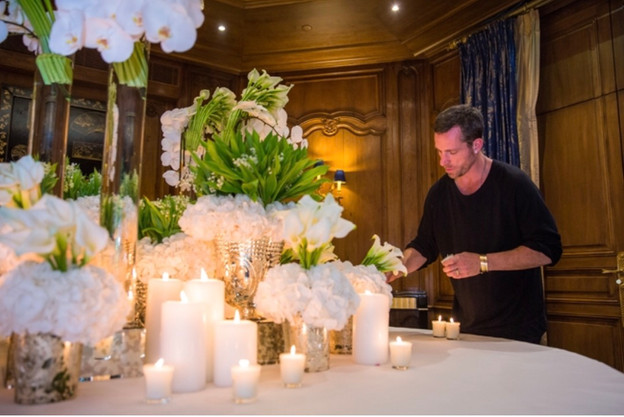 That's what we call wedding flowers: Spotlight on Jeff Leatham