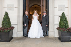 Bride at The Lanesborough Hotel