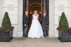 Bride at The Lanesborough Hotel