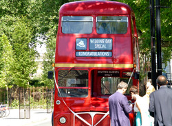 Iconic London double decker