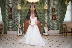 Regal bride, Queen's entrance