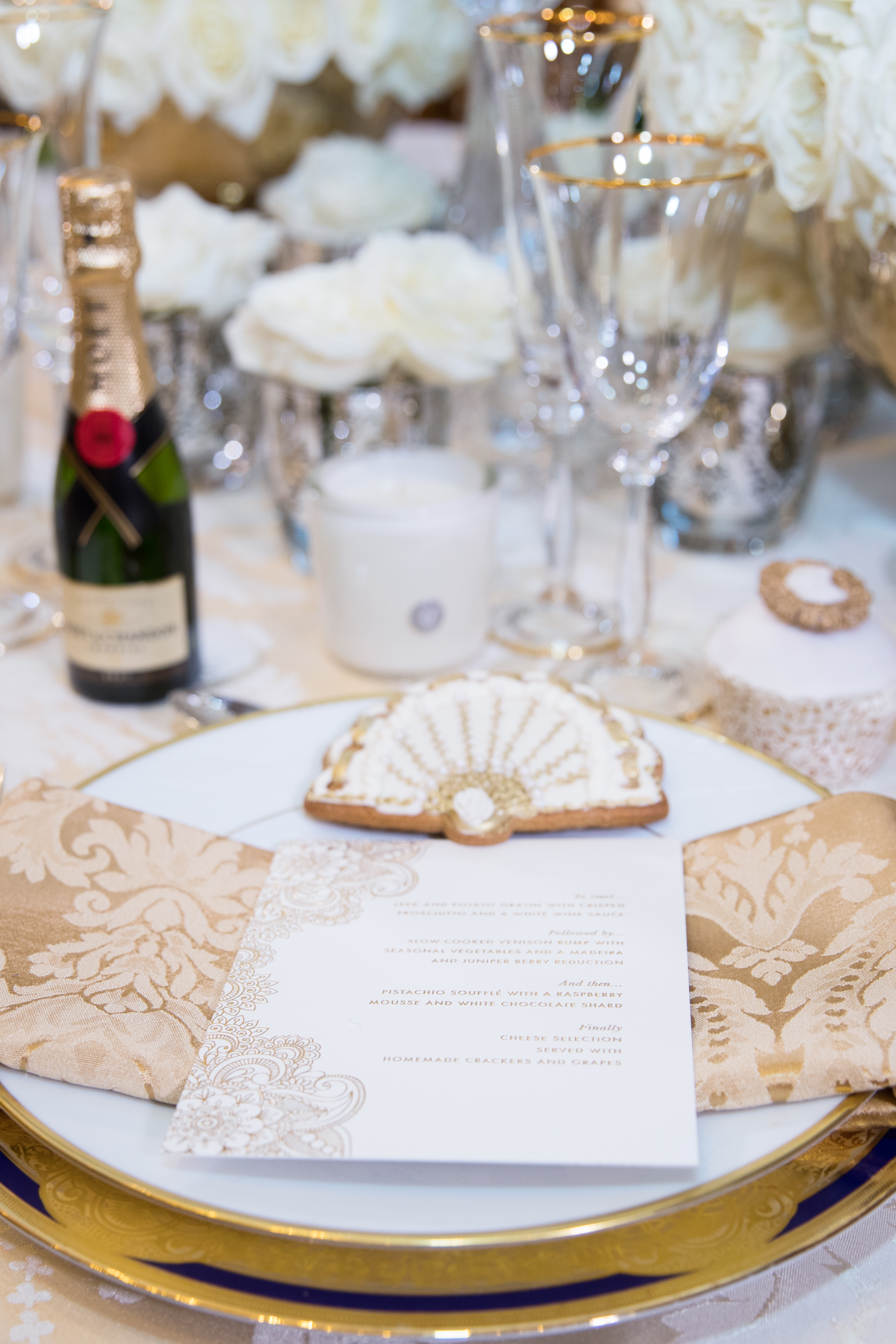 Wedding Table Decoration at The Lanesborough Hotel London