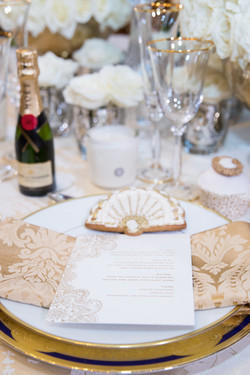 Wedding Table Decoration at The Lanesborough Hotel London