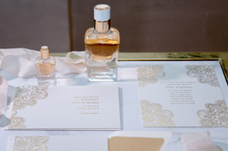 Hermes mini perfume and stationery