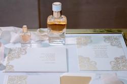 Hermes mini perfume and stationery