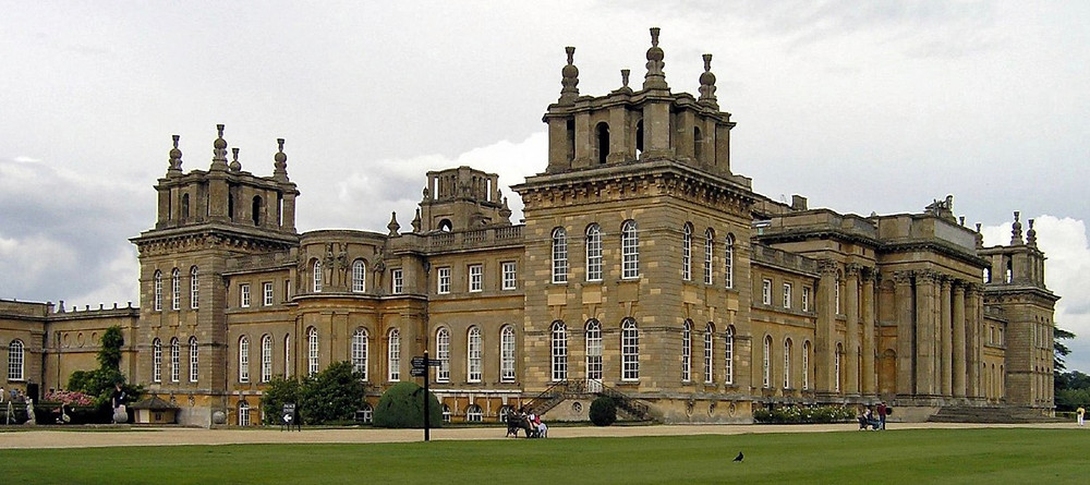 Beautiful Blenheim Palace, one of the best wedding venues