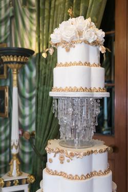 Luxury Wedding Cake at The Lanesborough Hotel