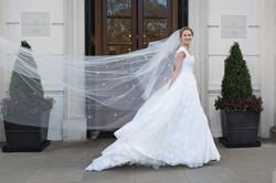 Zuhair Murad bride at the Lanesborough