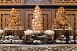 Croquembouches et macarons