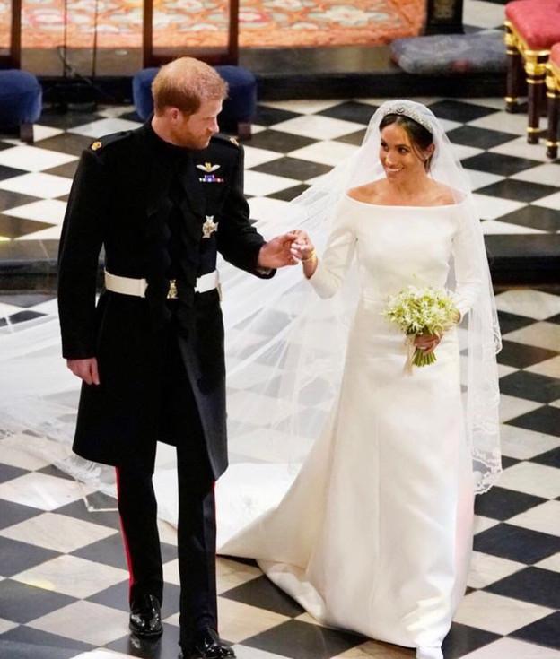 The Royal Wedding: Meghan Markle's wedding gown, a smart choice.