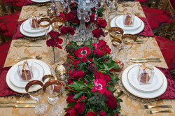 Red wedding at the Lanesborough