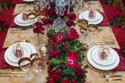 Red wedding at the Lanesborough