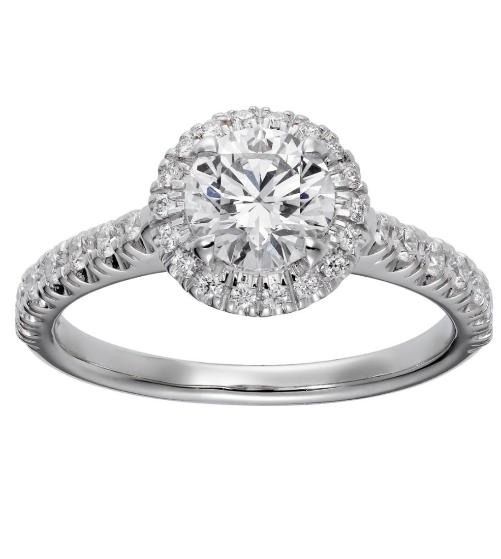 Destinée de Cartier, engagement rings