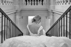 Regal bride at The Lanesborough Hotel
