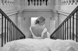 Regal bride at The Lanesborough Hotel