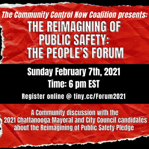 The Reimagining of Public Safety: The People's Forum