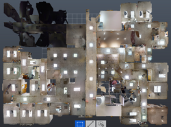Recap point cloud view from above