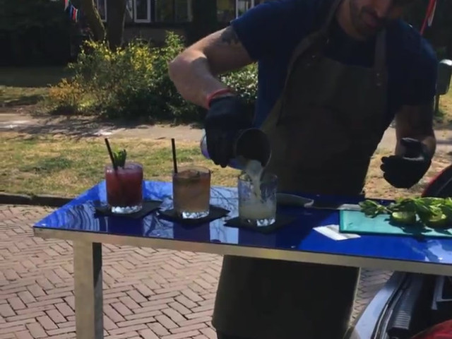 Cocktail aan huis