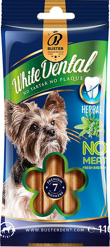 buster vegan herbal dog food stick