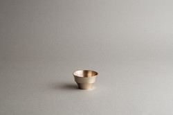 Moonstone sake cup plain