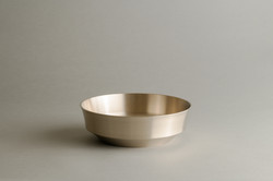 Moonstone salad bowl plain