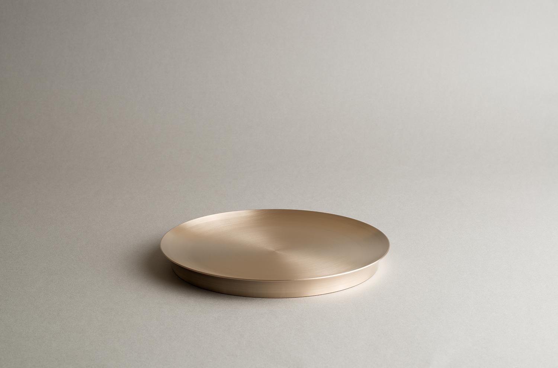 Moonstone dessert plate plain