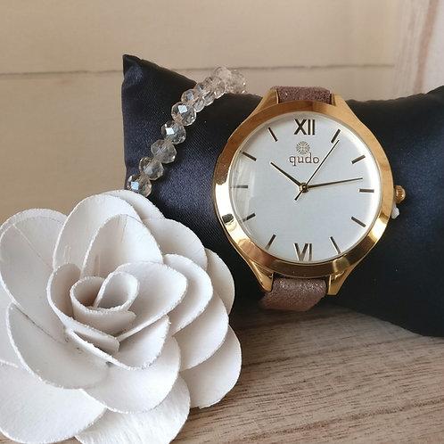 Qudo uurwerk Emilia goud.