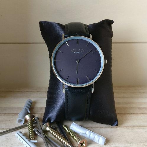 Qudo uurwerk man Eterno grey zilver