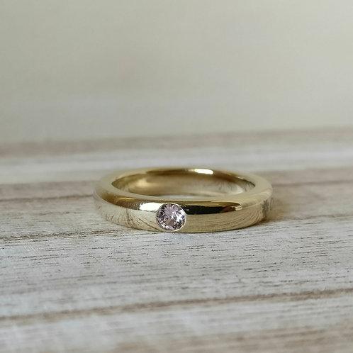 Qudo sarria ring G vintage rose