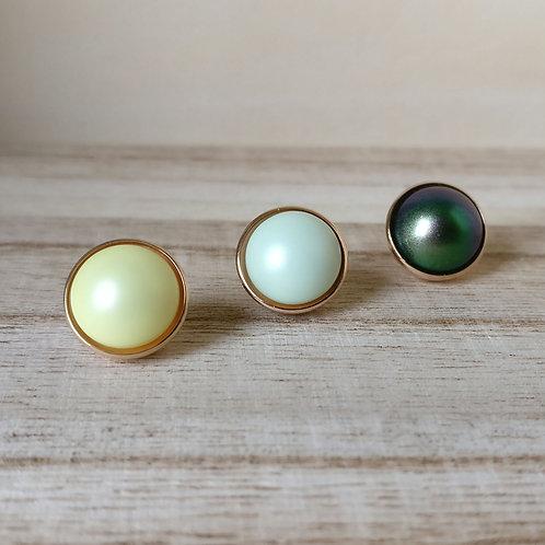 Qudo top bottone 11,5 mm RG parels
