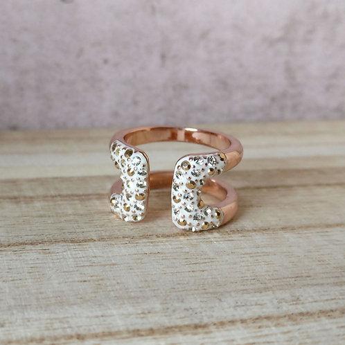 Ring open Phantasya RG crystal
