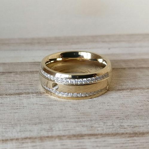 Qudo ring Lecce deluxe goud