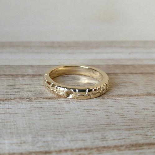 Qudo ring Segni goud