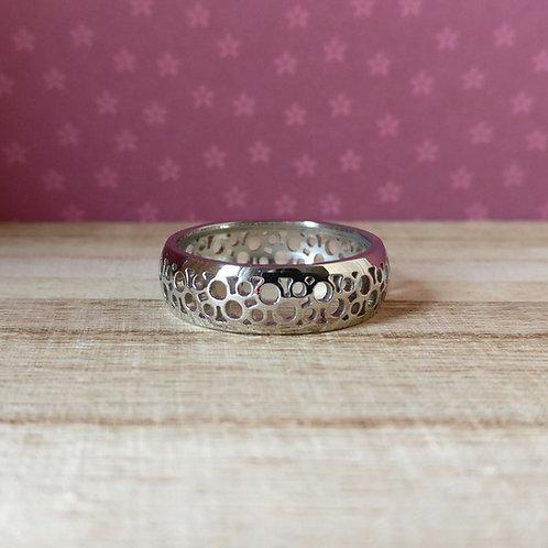 Qudo ring Norcia zilver