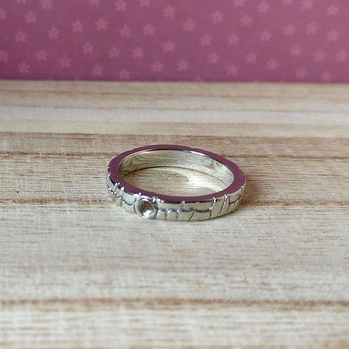 Qudo ring Segni zilver