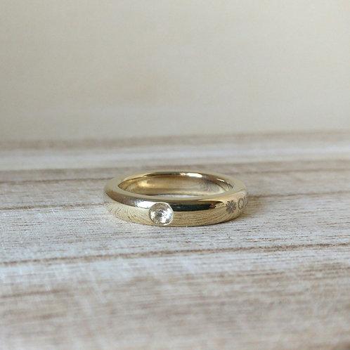 Qudo sarria ring G crystal