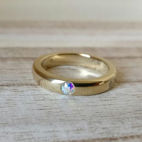 Qudo sarria ring G crystal ab