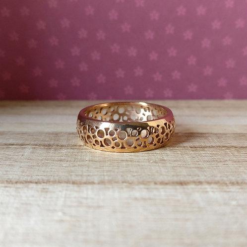 Qudo ring Norcia rosé goud