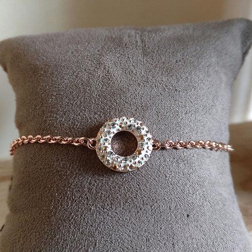 Armband donut Phantasya rosegold