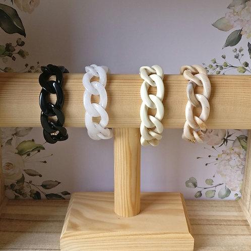 Armband resin met magneetsluiting