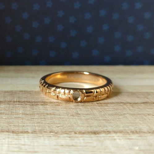 Qudo ring Segni rosé goud