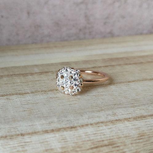 Ring blokje Phantasya RG crystal