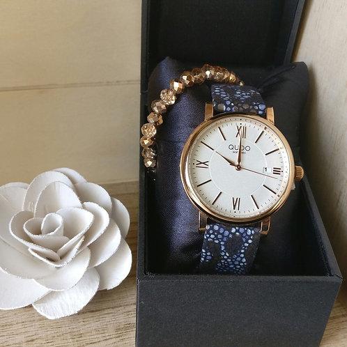 Qudo uurwerk Varese rosé goud.