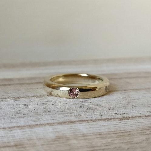 Qudo sarria ring G blush rose