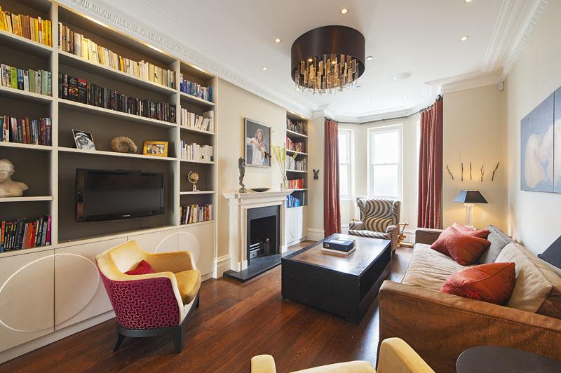 London house - living room