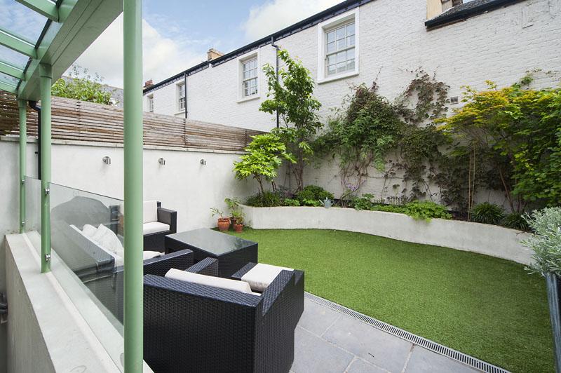 London house - garden
