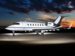 Challenger 605 With a Fresh New Look!